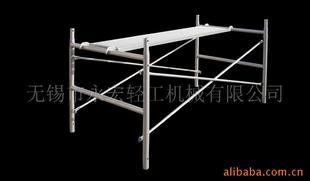 供应订做脚手架半架  1米半架 装潢用 方便 厂房
