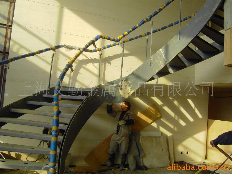 钢木楼梯,钢玻楼梯,全钢楼梯,楼梯扶手
